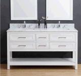 Vanité en bois de salle de bains