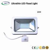20W com eficiência energética Holofote LED SMD com Sensor de PIR