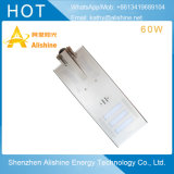 60W LED 공장 가격을%s 가진 태양 가로등