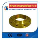 Borde roscado B16.5 de acero del ANSI del borde del tubo