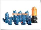 Pompa ad acqua sporca sommergibile d'Ostruzione guidata elettrica della pompa per acque luride di Wq