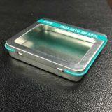 Higed Kappen-Metallverpackenhaar bindet Zinn-Kasten mit Belüftung-Fenster