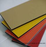 El panel compuesto coloreado aluminio para el área exterior