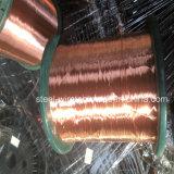 das 4mm Silber überzog feste Kern-kupferner Draht-Rolle des China-Großverkaufs