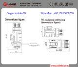 Кабельный соединитель IP65 2pin пластичный для освещения Tri-Доказательства СИД