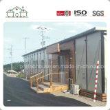 Chambre préfabriquée économique de toit plat pour le dortoir/le camp/bureau et école d'ouvrier