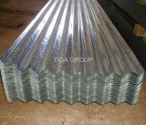 Aluzincの軽量のGalvalumeの波形の鋼板のさざ波の金属の屋根ふき