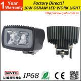 トラクターLEDランプ3inchのための携帯用LED作業ライト10W