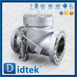 Didtek API 6Dの重いハンマーのWcbの小切手弁