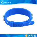 Braccialetto leggente 3m superiore del Wristband del silicone di distanza RFID