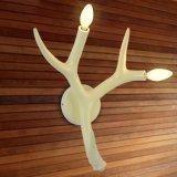 Moderne Geweih-Harz-Wand-Lampe für Hotel-Haus