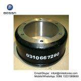 Профессиональный тормозный барабан 0310667290 части тележки отливки для BPW