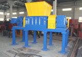 자동차 타이어를 위한 두 배 샤프트 슈레더 기계를 재생하는 Pnss 플라스틱