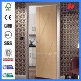 Panneau de fibre de bois composite WPC portes pour vente Portes