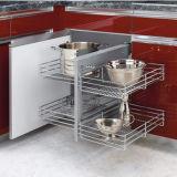 Liberar los estantes plegables ordenados de la unidad del estante de alambre/del alambre