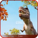 De realistische Dinosaurus van het Schuim van t-Rex van de Dinosaurus van Animatronic T Rex