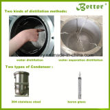 Wasser-Dampf-Ingwer-wesentliches Öl-Zange