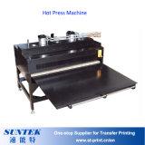 Máquina caliente de la prensa de la transferencia automática de la sublimación para las camisetas