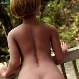 le sexe adulte enceinte de 158cm joue la poupée réelle d'amour de silicones