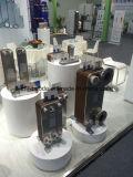 Cambiador de calor cubierto con bronce cobre del refrigerador de petróleo de la placa para el enfriamiento marina del aceite de motor