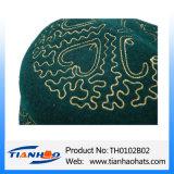 Musulmana de alta calidad sombrero de fieltro de lana bordados