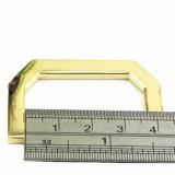 A curvatura quente do anel-D da liga do zinco do metal da venda para o saco parte os acessórios dos bens do couro de sapatas da curvatura de correia (BL4019)