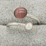 Opal incrustado com Anéis O
