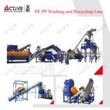 Reciclaje y lavadora del PE de los PP