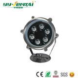 Las lámparas subacuáticas de la alta calidad LED
