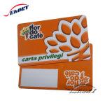 13.56MHz cartões de plástico Papel Cartão Tag NFC