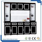 Гранита шкафа кухни PVC мебели шкафа Foshan шкаф комнаты модульного живущий