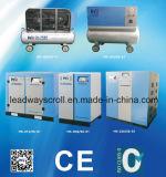 Compressore d'aria senza olio senza olio della vite del compressore d'aria del rotolo piccolo
