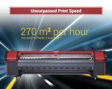 impresora solvente de la velocidad de los 3.2m con la cabeza de impresora de Konica 512ilnb 30pl