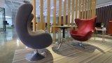 Sofá elegante del cuero del área de la oficina o del pasillo o del salón (SF-1057-1)