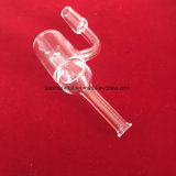 Protezione di vetro del carburatore della vasca di gorgogliamento il chiodo termico del quarzo dei Bangers