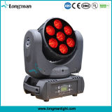 Indicatore luminoso capo mobile del fascio di alto potere 7*15W RGBW DMX LED