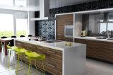 MDF древесины современная кухня кабинет Домашняя мебель (PR-K2017)