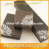 Boîte-cadeau de papier de empaquetage de bijou de carton de luxe