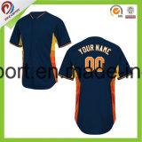 Dreamfox Design de Mode Sportswear 100% Polyester SUBLIMATION Maillot de Baseball unisexe