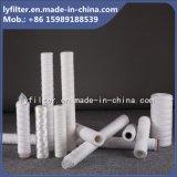 40 cartouche filtrante de filé du micron pp de pouce 5 pour la filtration liquide