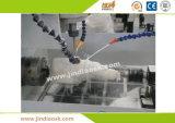 高精度Jd7080のヒスイCNCの彫刻家CNCのルーター機械中国