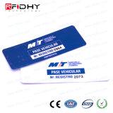 Adesivo inteligentes RFID 860-960MHz UHF passiva da etiqueta de para-brisa