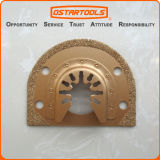 lámina rápida oscilante de la herramienta del retiro de la lechada del ajuste del carburo de 70m m (2-3/4 '')