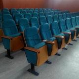 Silla verde Yj1001g del auditorio del teatro de la cubierta de tela