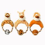견면 벨벳 고양이 개 장난감의 귀여운 재미있은 애완 동물 장난감