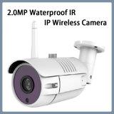 câmera impermeável do rádio do IP do IR da lente de 2.0MP Wi-Fi 3.6