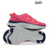 Madame marquée Soft Running Sport Shoe avec le haut respirable de maille