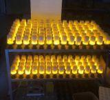simuleerde de Gloeilamp van het Effect van 3D 5W E27 E26 B22 LEIDENE Vlam van de Brand het Decoratieve Licht van de Vlam van de Verlichting van het Graan van de Atmosfeer