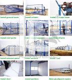 Camera prefabbricata chiara della costruzione del pannello a sandwich della struttura d'acciaio ENV per l'hotel turistico