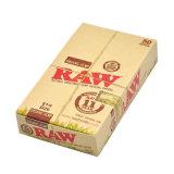 papel de balanceo sin procesar de Weed del papel rodado 25booklets/Box de 78m m con la caja de presentación